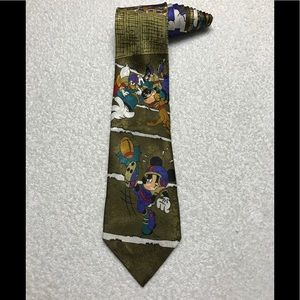 Disney Mickey Unlimited Football Mickey Mouse Tie